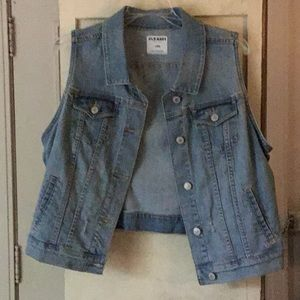 Old Navy Jean vest